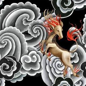 Kirin Japanese tattoo