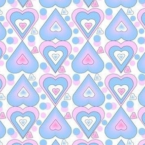 It' s A Boy Girl Hearts New Fabric