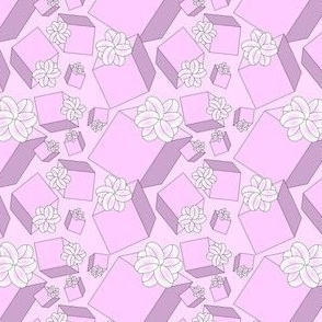 Baby Girls Boxes New Fabric