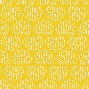 Butter + Cream Scandi Half Moon Texture Fat Eighth // Bright + Playful Color with Geometric Nature Motifs // Modern Quilting Collection // Small Scale // ZirkusDesign