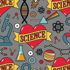 Scientific Tattoos (Gray)