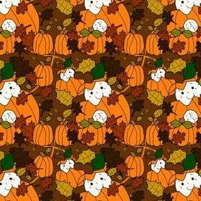 Pumpkin Fabric 6
