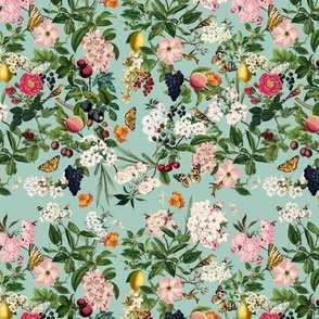 Summer Orchard, Robins Egg Blue // small