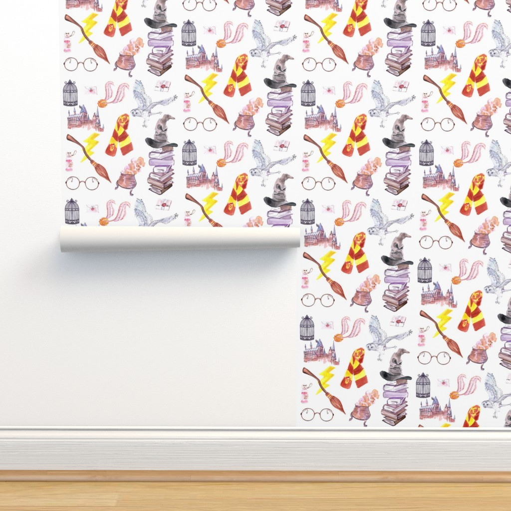 Isobar Durable Wallpaper featuring Wizard Symbols // Medium Scale by hipkiddesigns