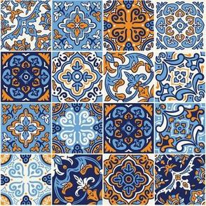 Sea ceramic tilework