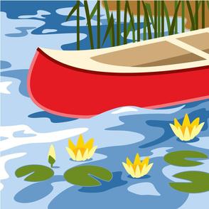 Canoe panel