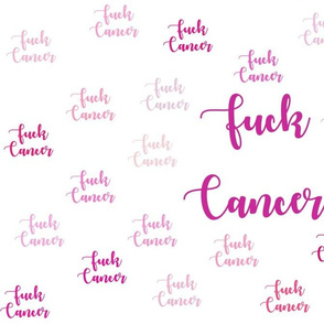 Fuck Cancer Pink