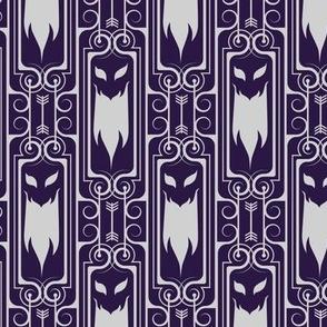 Ghost Stripes 2 - dark purple