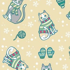 Meowrry Christmas! in Neutral