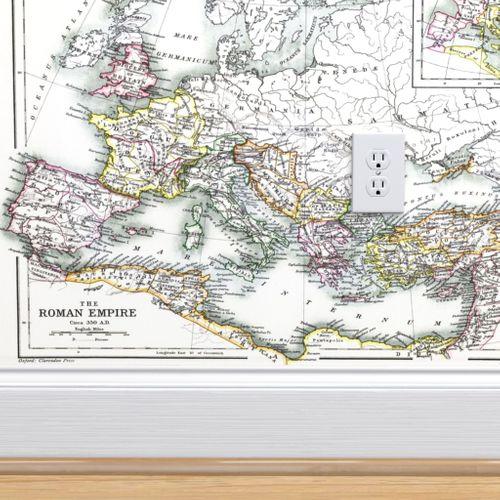 Wallpaper Roman Empire 350 Ad 54w
