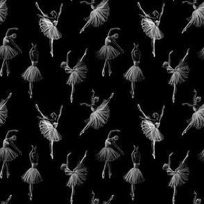 Ballerinas black (small scale)