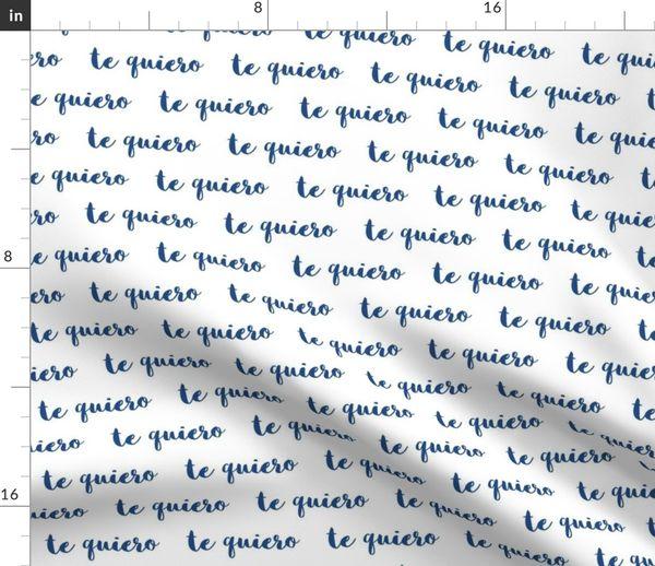 Liebe Text Schreiben Romantisch Handschrift Spanisch Sprache