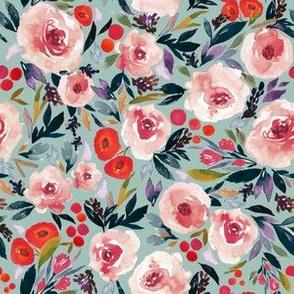 Indy bloom Design Plum Berry Blues A
