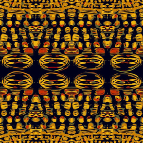African Millefiori Beads by kedoki