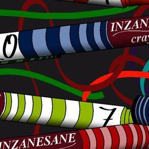Inzanesane Crayon Man repeated