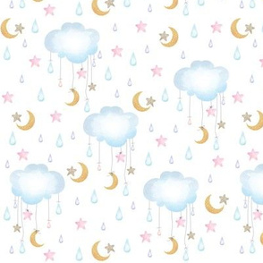 Clouds Stars Moons