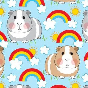 guinea-pigs-and-rainbows-on-blue-