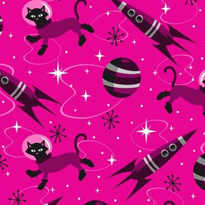 Cats of the Future (Pink)