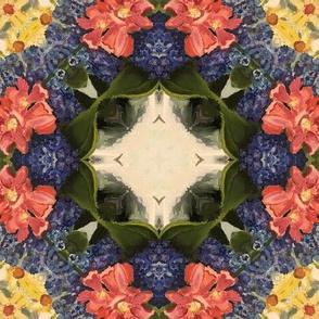 Hydrangea and Cosmos_11