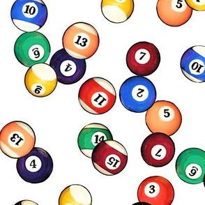 Billiard Balls // Large