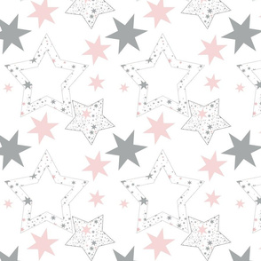 Stars for January large and darker