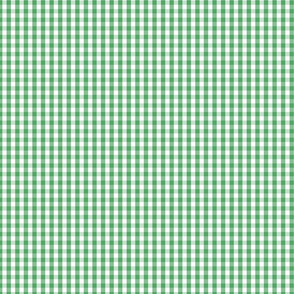 Fern Green Gingham Check Plaid