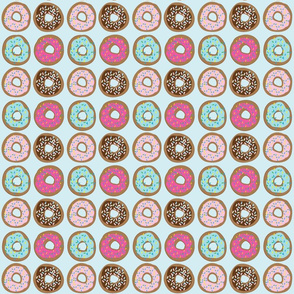 Donuts with Pastel Icing