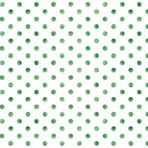 green polkas - St Patricks day coordinate