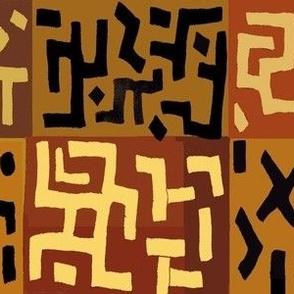 African Kuba Abstract