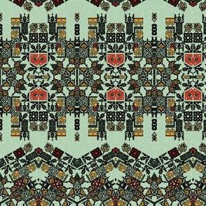 Ethnic style pattern