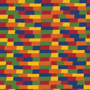 Kente building blocks