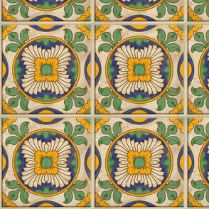 Jardín de Sol Spanish Tile ©Julee Wood