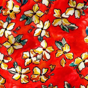 Fanciful Floral - Salsa