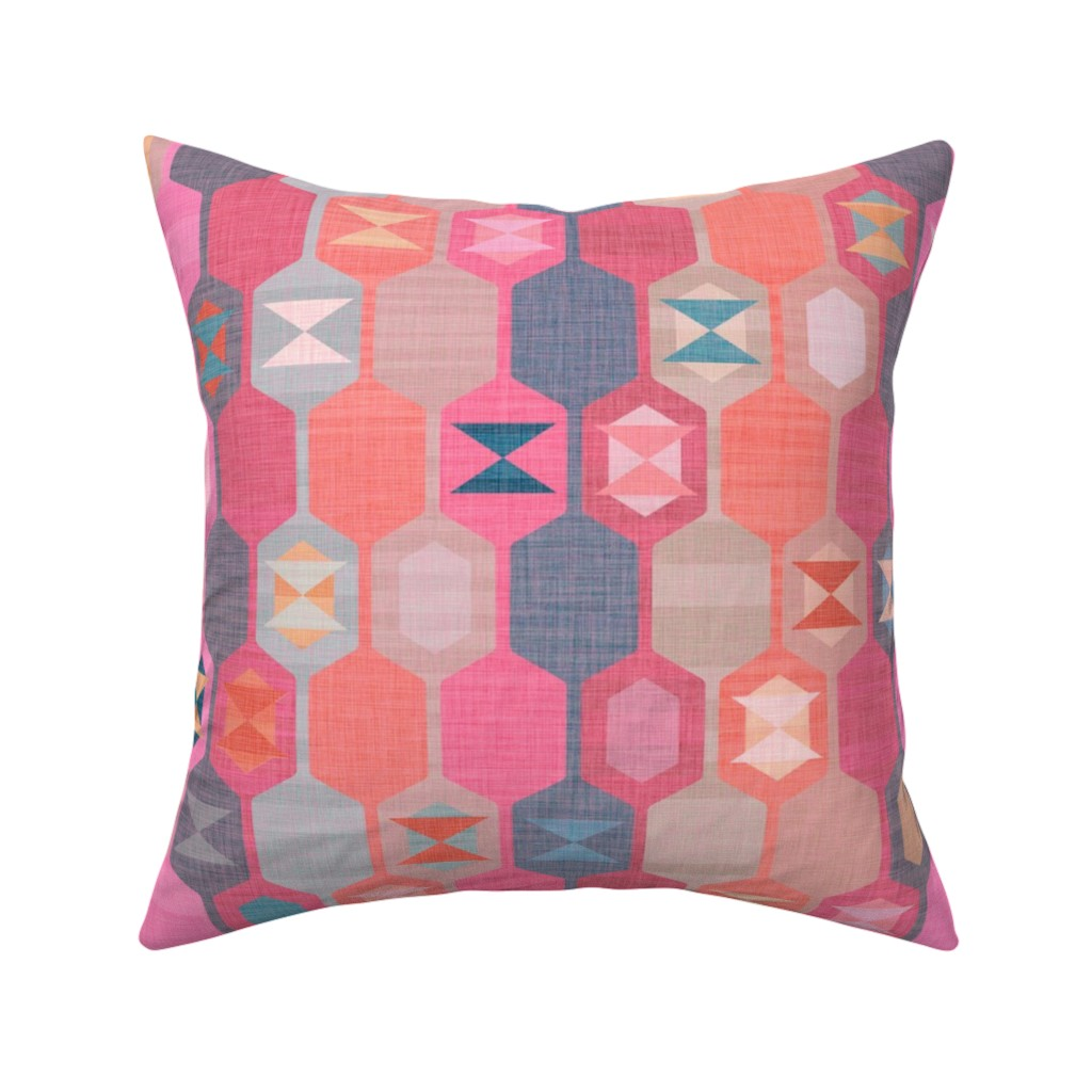 Catalan Throw Pillow featuring Turkish Delight by spellstone