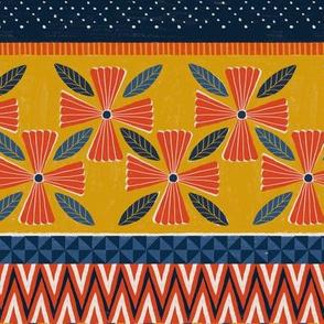 Block Print Stripe