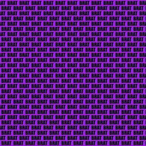 little purple brat