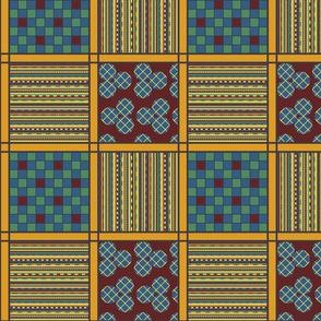 Joyful Checks Stripes and Circles
