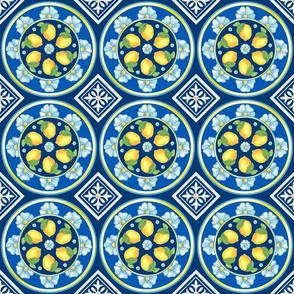Lemon Spanish Tiles
