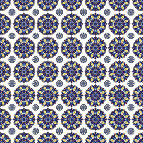 7128795-blue-spanish-tile-entry-by-margiecampbellsamuels