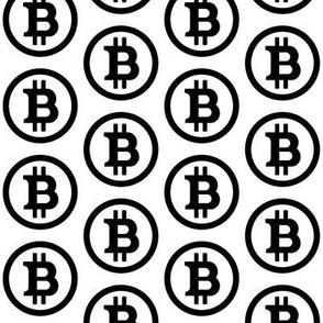 Bitcoin Symbol // Large