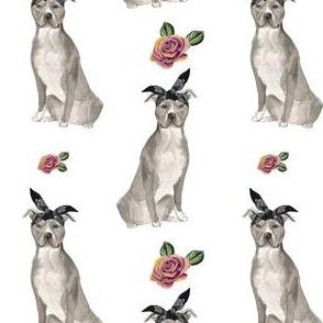 "4"" Pit Life - Grey Floral"