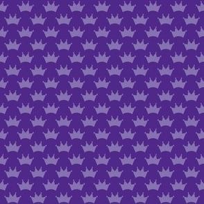 little royal purple crowns