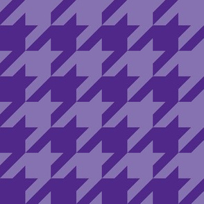 "1"" houndstooth - royal purple"