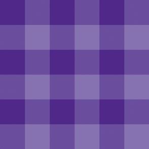 """3"""" purple parka check"""
