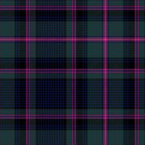 """Cooper / Couper tartan #2 checked, 6"""" muted"""