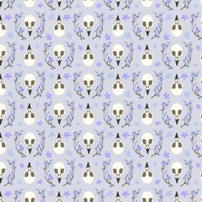bird skull pattern2