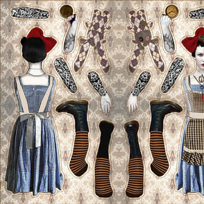 Alice in Steamland Doll Pattern