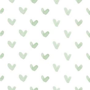 Love Hearts // Sage