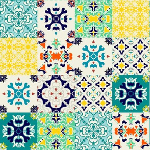 Bright Spanish Tiles