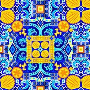 Spanish Scallops Tile